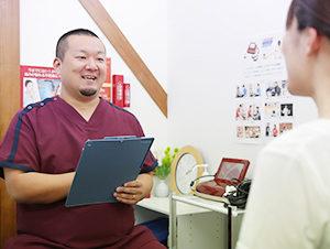 松原市にしかわ整骨院での腰痛に対する検査