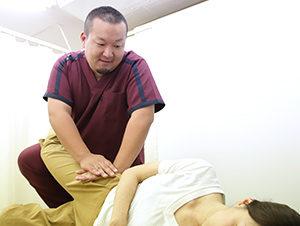 松原市にしかわ整骨院での腰痛にたいするソフト骨格矯正