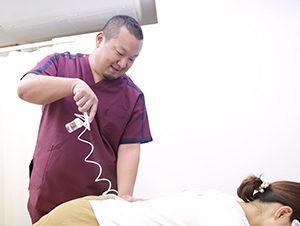 松原市にしかわ整骨院での腰痛に対する炭酸ミスト